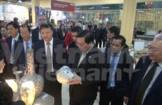 High-quality Vietnamese product fair opens doors in Russia
