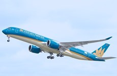 Vietnam Airlines' flights from/to Paris take off as scheduled