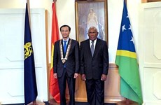 Solomon Islands hopes for closer ties with Vietnam