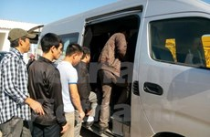 First group of Vietnamese workers in Algeria return home