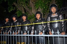 Indonesia's anti-terrorism forces on high alert