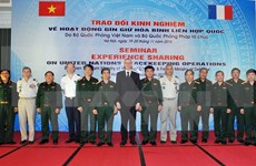 France willing to share peacekeeping experience with Vietnam