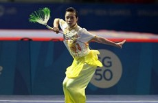Vietnam wins two more silvers at global Wushu champs