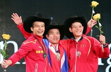 Lifters raise the bar at int'l tournament