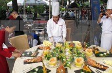 HCM City: Festival features international elegant cuisine