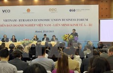 Vietnam, EEU target further trade ties