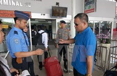 Indonesia increases security at airports after terrorist threat