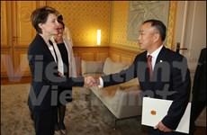 Switzerland values relations with Vietnam