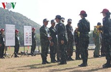 Vietnam in top three at shooting event