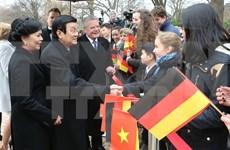 German press spotlights Vietnam President visit