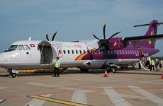 Cambodia Angkor Air launches air route to Vientiane