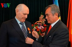 Ukrainian citizen honoured with friendship insignia