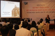 HCM university to instruct in English
