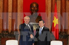 State President receives Governor of Saint Petersburg