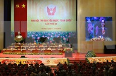 Ninth National Patriotic Emulation Congress opens in Hanoi