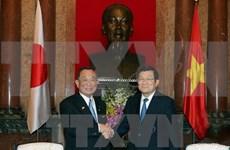 Japan top legislator vows to do more for partnership with Vietnam