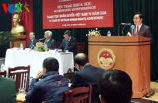 Vietnam's 70-year human rights achievements highlighted