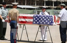 Possible remains of US servicemen repatriated