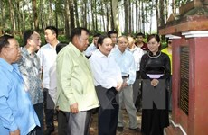 Symposium highlights activities of late Lao President in Vietnam