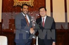 President meets outgoing Qatar Ambassador