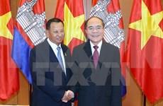 Cambodian Senate President concludes Vietnam visit