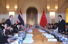 Thailand, China cement economic ties