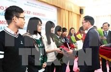 Needy students receive KF-Samsung scholarships