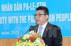 Hanoi observes int'l solidarity day with Palestine