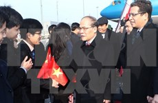 National Assembly Chairman begins official visit to China
