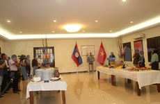 Vietnam, Laos gather for New Year celebration