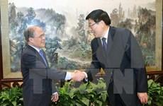 Vietnamese legislative leader visits Hunan province