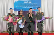 Vietnam to contribute more to UN peace-keeping mission