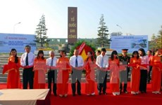 Memorial park for war martyrs inaugurated in HCM City