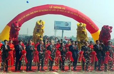 Hanoi-Bac Giang Expressway opened to traffic