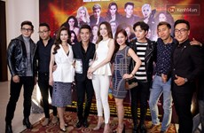 Gala line-up includes over 20 Vietnamese, Korean singers