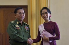 Myanmar: New military MPs appointed