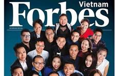 Forbes Vietnam announces outstanding figures in 2016