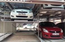 Hanoi operates new multi-storey car park