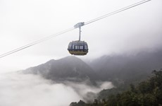 World's longest cable car system unveiled in Lao Cai
