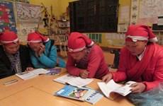 Ethnic women learn to read, write in free class