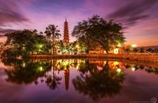 Famous pagodas in capital city