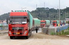 First batches of goods sent abroad via Lao Cai border gate
