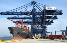Cai Lan Port welcomes international container ships