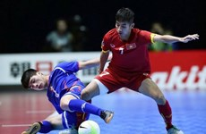 Vietnam tackle Thailand in futsal event