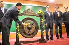 Hanoi Stock Exchange celebrates post-Tet opening