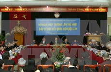 First consultative conference on NA deputies' election