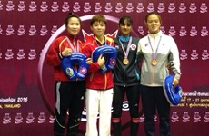 Lua bags Asian wrestling silver