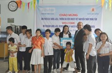 Gifts come to disadvantaged children