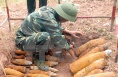 US organisation aids UXO clearance project in Quang Binh