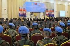 Cambodia marks decade of UN peacekeeping participation